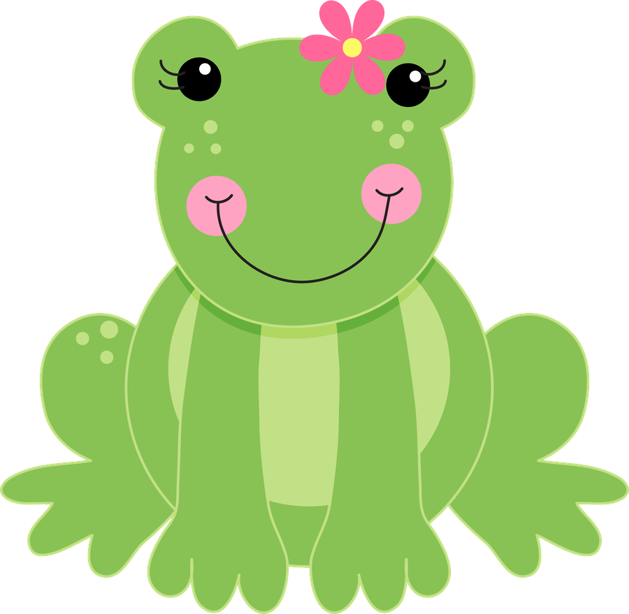 Pin by on cliparts. Frog clipart summer