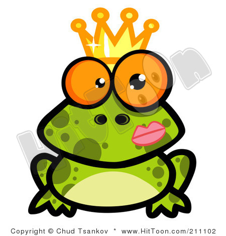 Crowned panda free . Frog clipart thanksgiving