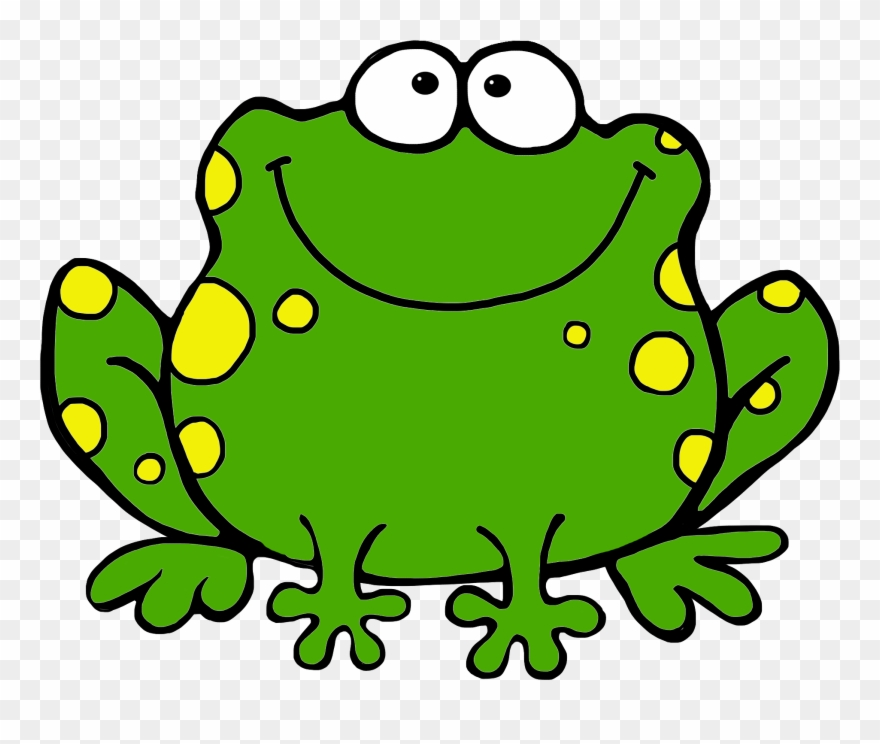 Frogs clipart toad. Image of cute frog
