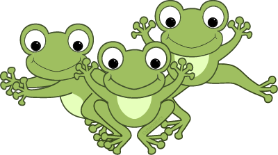 Frog toys scrapbooking cartoons. Frogs clipart toy