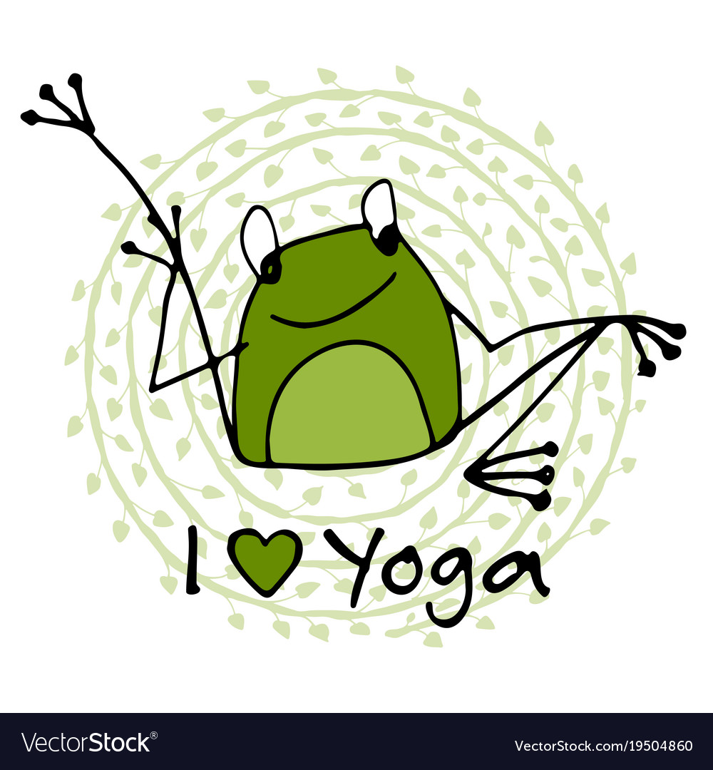 Frogs clipart yoga. Free frog download clip