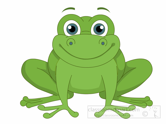 Frogs clipart animal. Free frog clip art