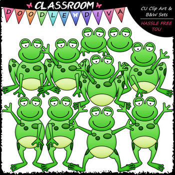 Plain clip art b. Frogs clipart classroom
