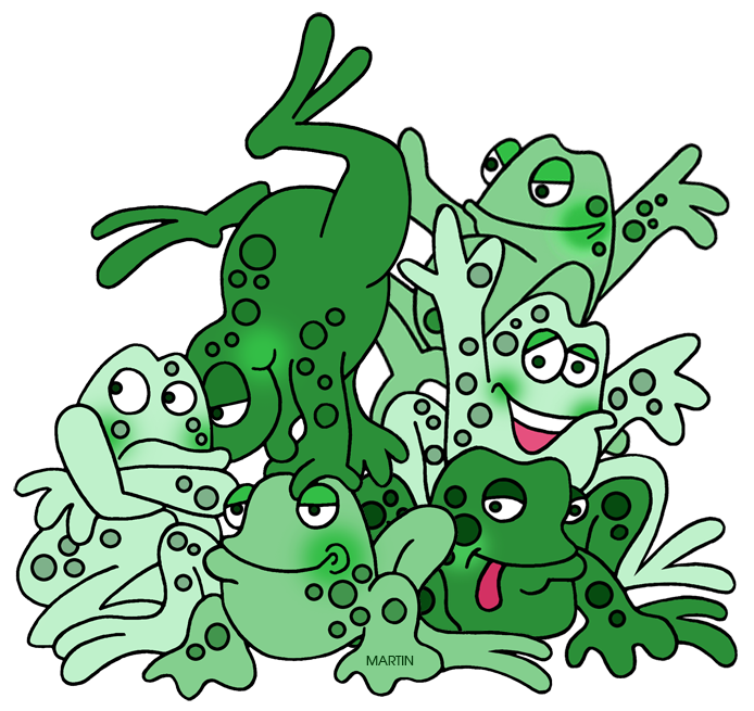 Animals clip art by. Frogs clipart classroom