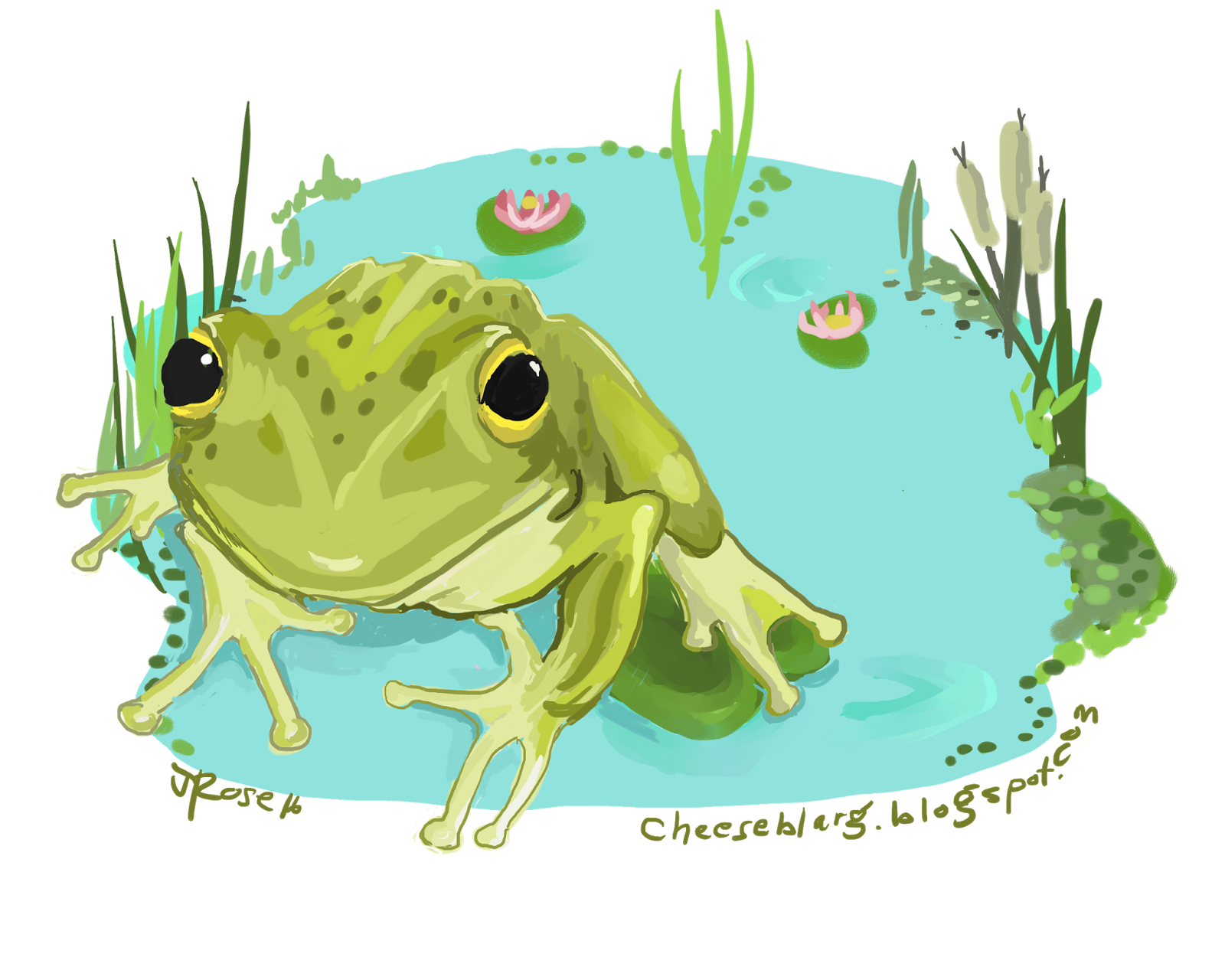 I d like cheese. Frogs clipart fairytale