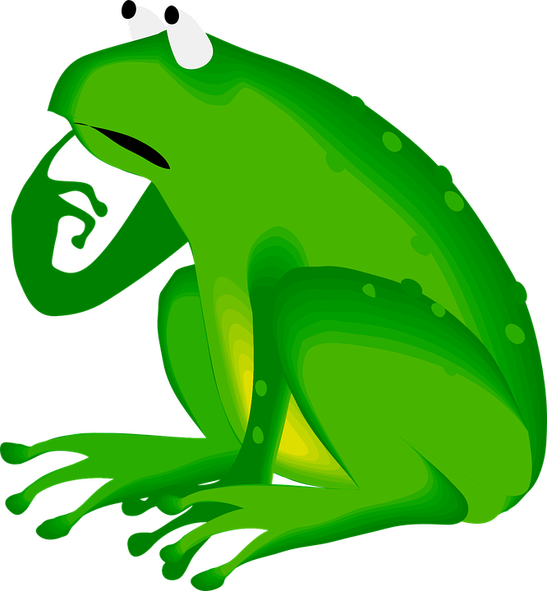 Fairy tale weaver th. Frogs clipart fairytale