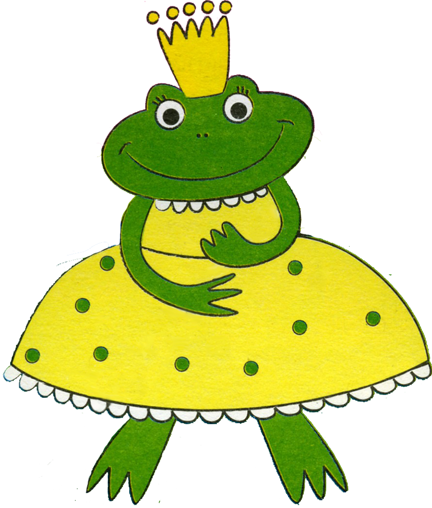 Characters png and album. Frogs clipart fairytale