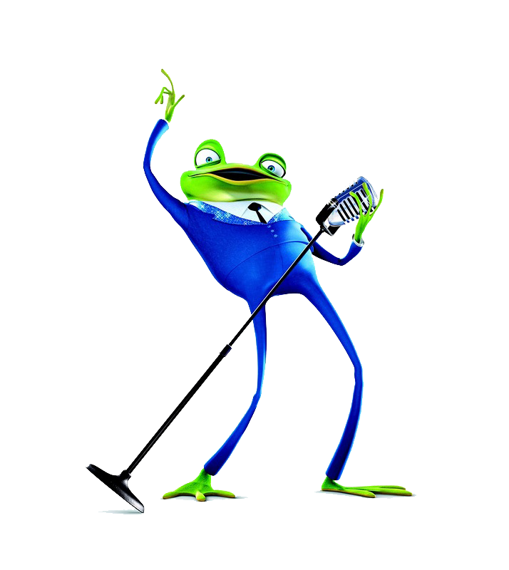 Frogs clipart musical. Tree frog common nightingale