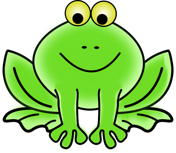 Frogs clipart open mouth. Image for frog smiling