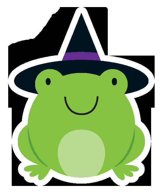 Frog clip art pinterest. Number 1 clipart halloween