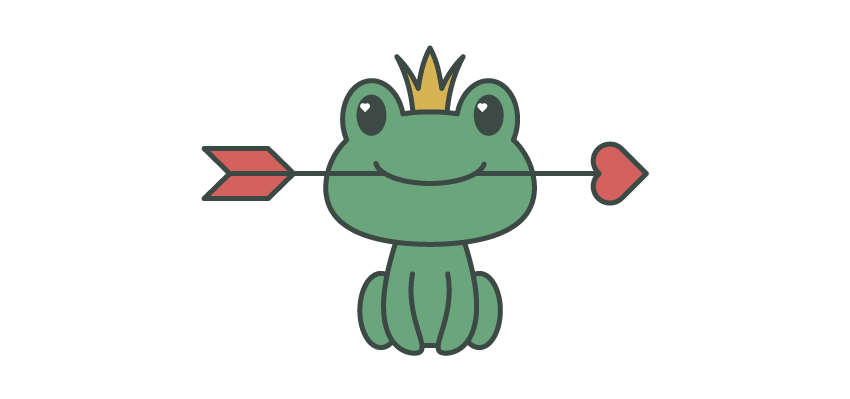 How to create a. Frogs clipart shape