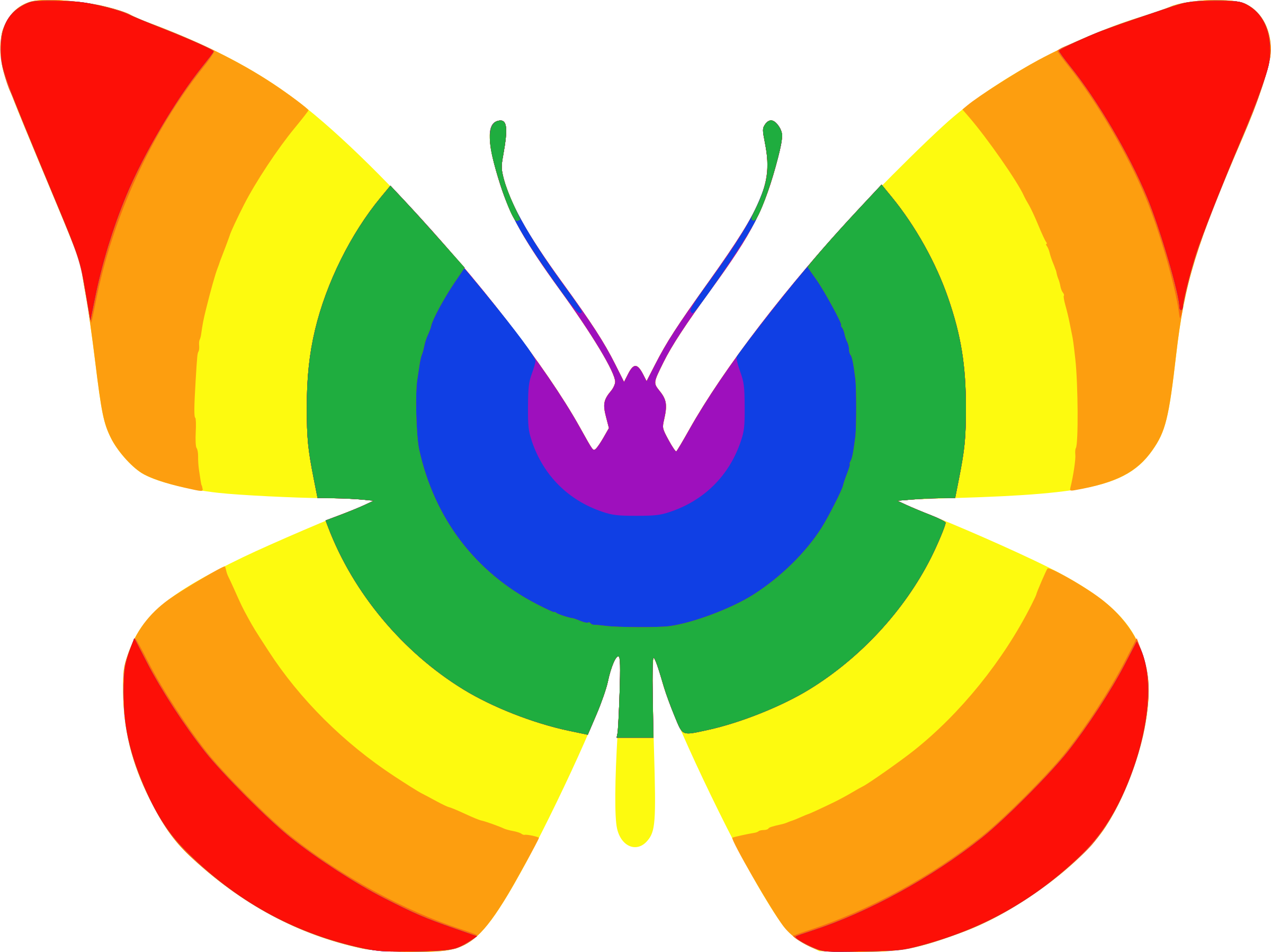 Rainbow butterfly frames illustrations. Frogs clipart symmetrical
