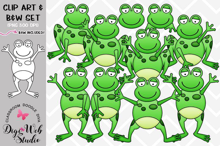 Frogs clipart symmetrical. Clip art illustrations plain