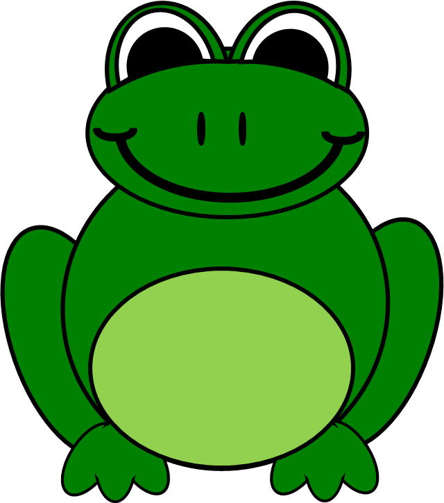 Free clip art library. Frogs clipart symmetrical