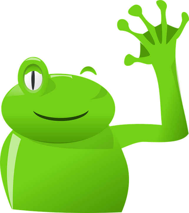 Frogs clipart symmetrical. Cute cartoon frog pictures