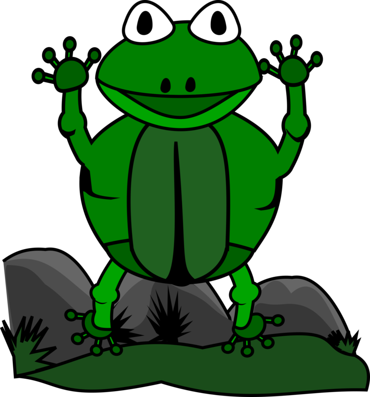 Free frog images black. Frogs clipart thanksgiving