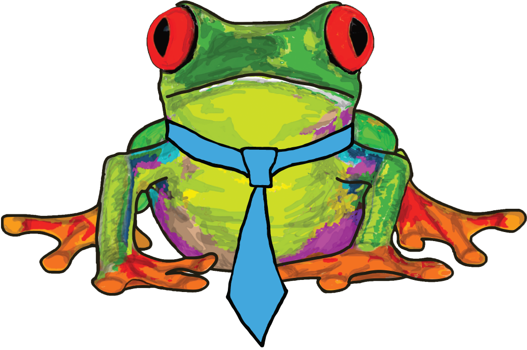 Trim carpenternew job listing. Frog clipart tired