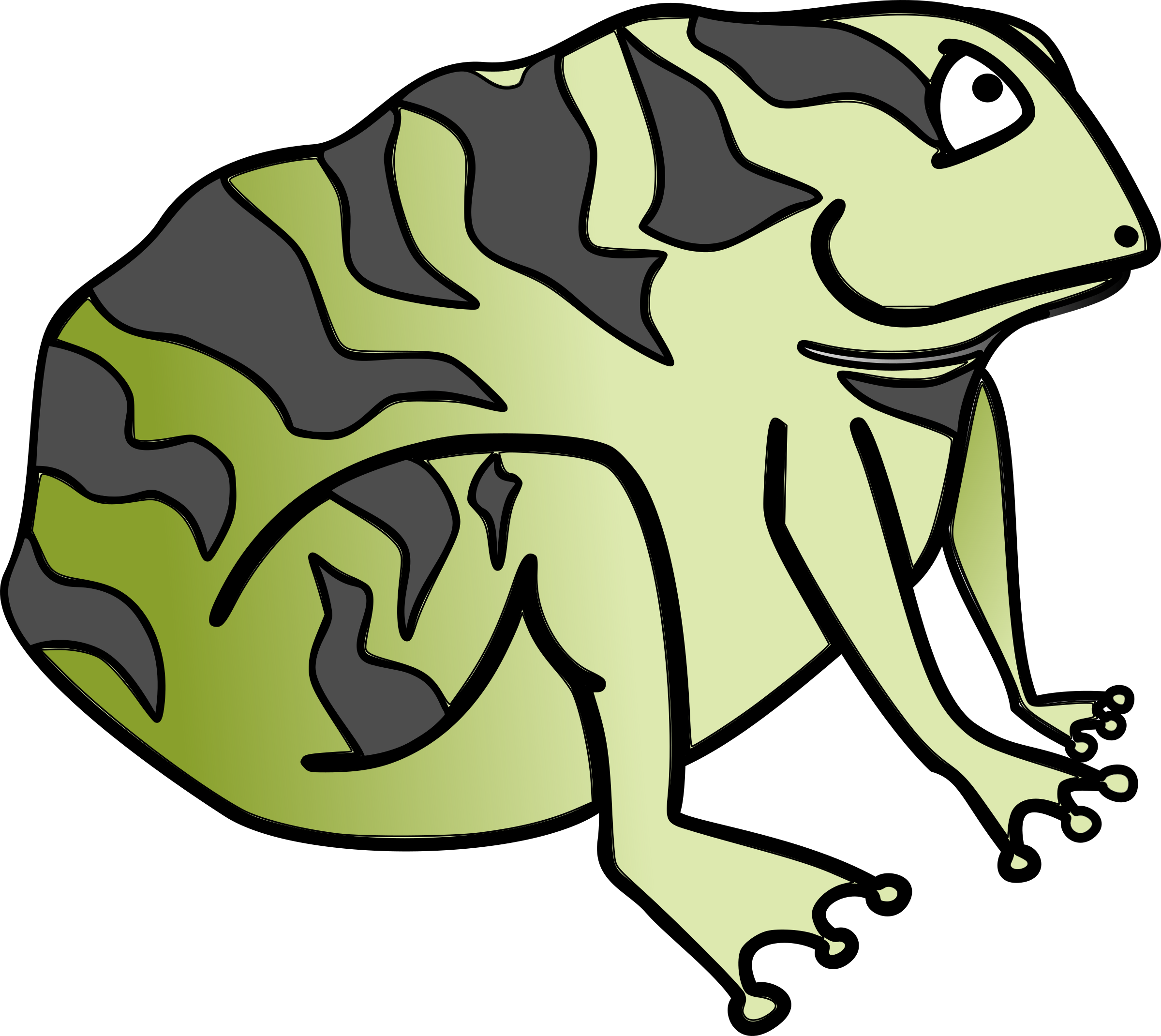 . Frogs clipart toad