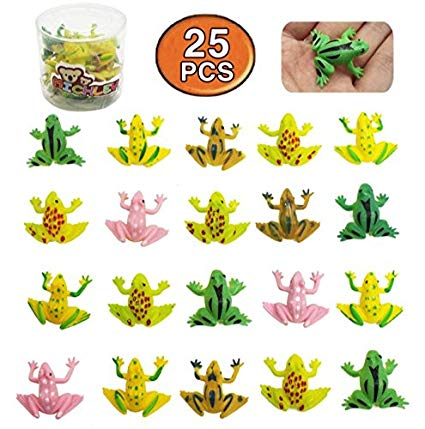 Michley pcs in plastic. Frogs clipart toy