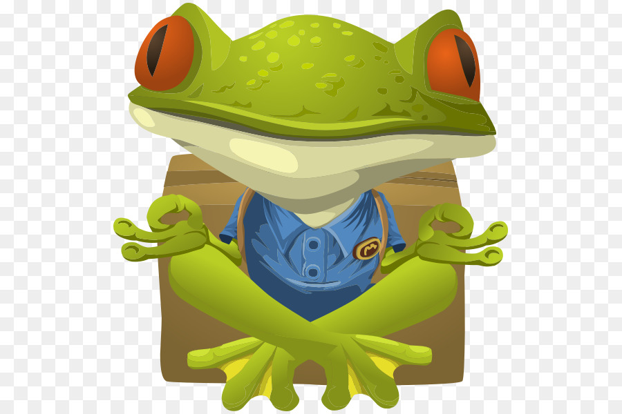 Background png download free. Frogs clipart yoga