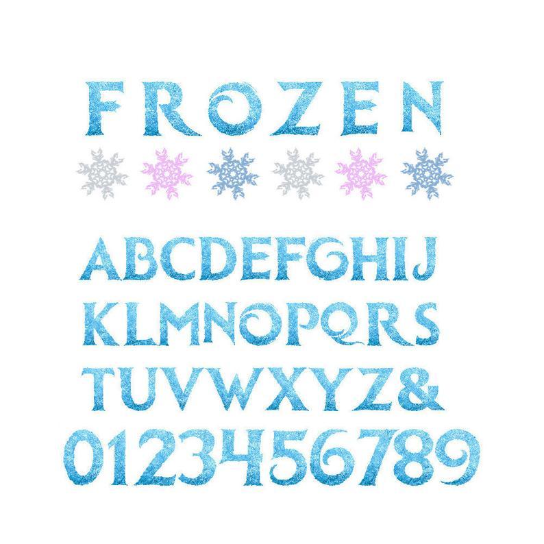 printable letters numbers. Frozen clipart alphabet