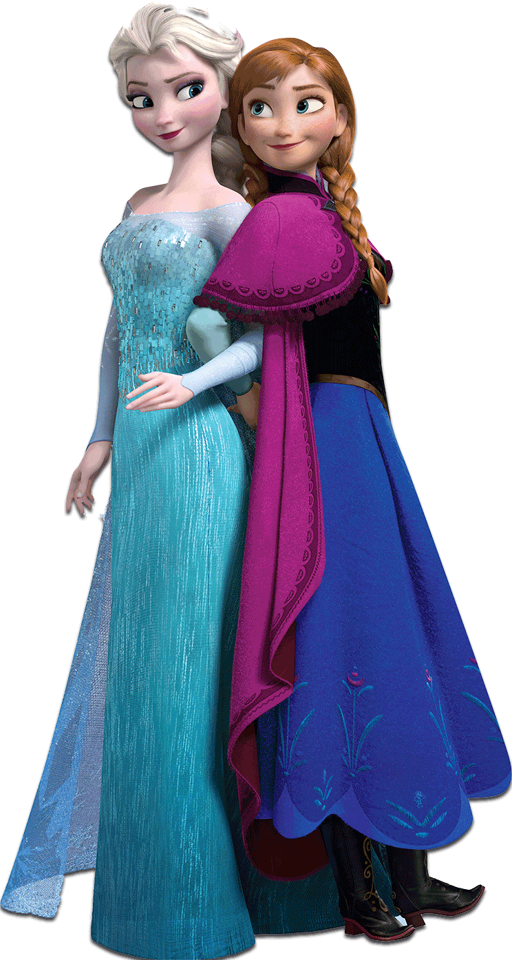 Frozen clipart ana elsa. Png transparent images group