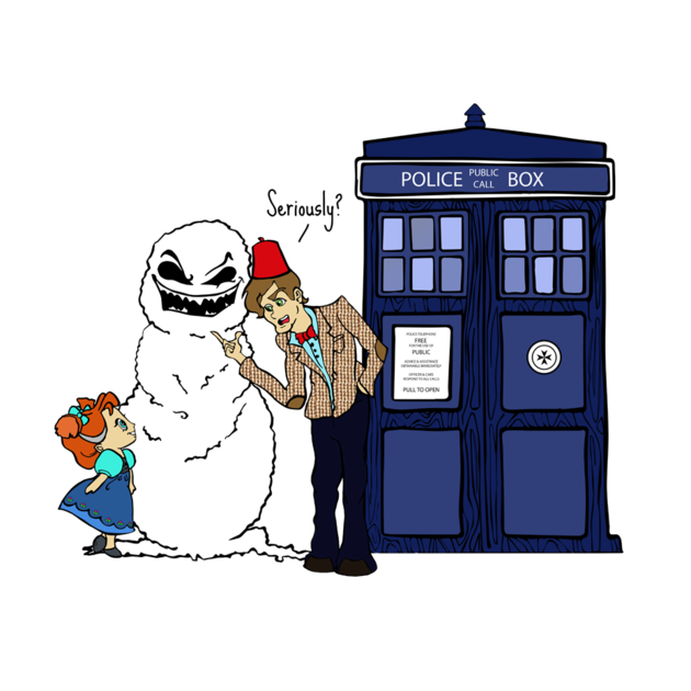 Doctor who design mash. Frozen clipart do you want to build a snowman