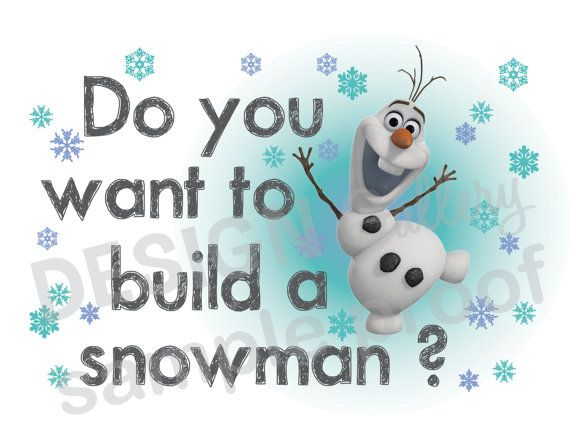 Frozen clipart do you want to build a snowman. Disney s olaf image