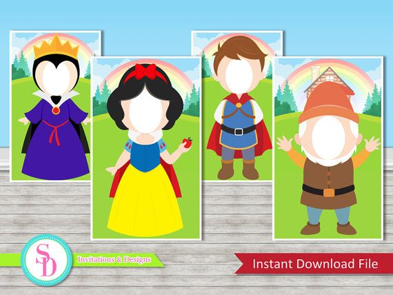 Frozen clipart evil prince. Snow white photo booth