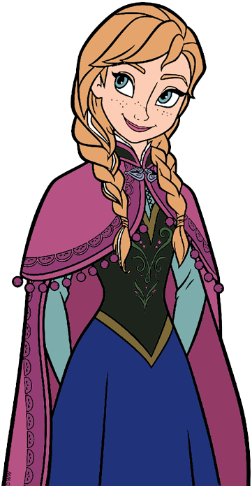 Frozen clipart frozen cartoon. Anna clip art from
