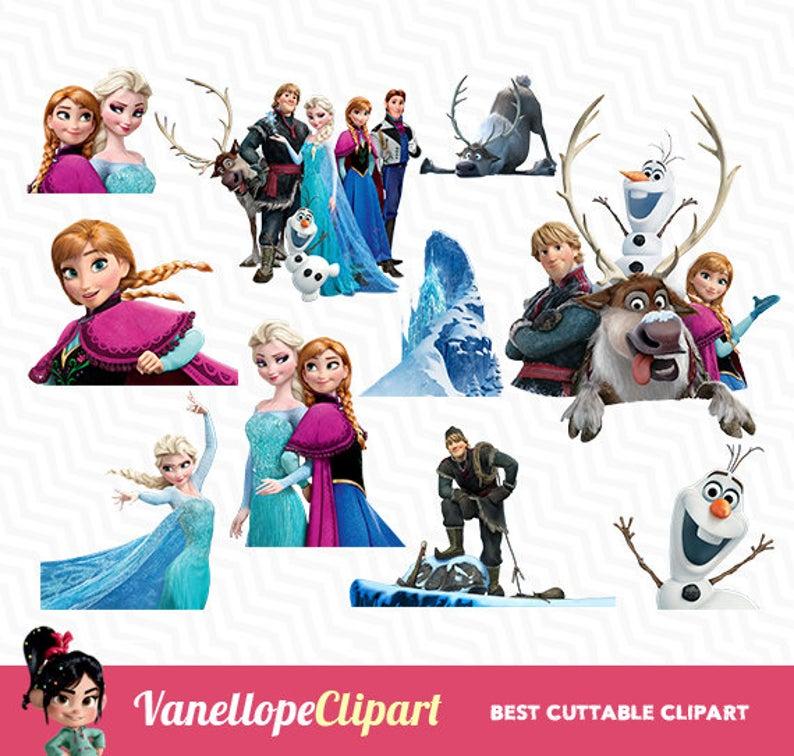 Frozen clipart frozen disney. Clip art digital olaf