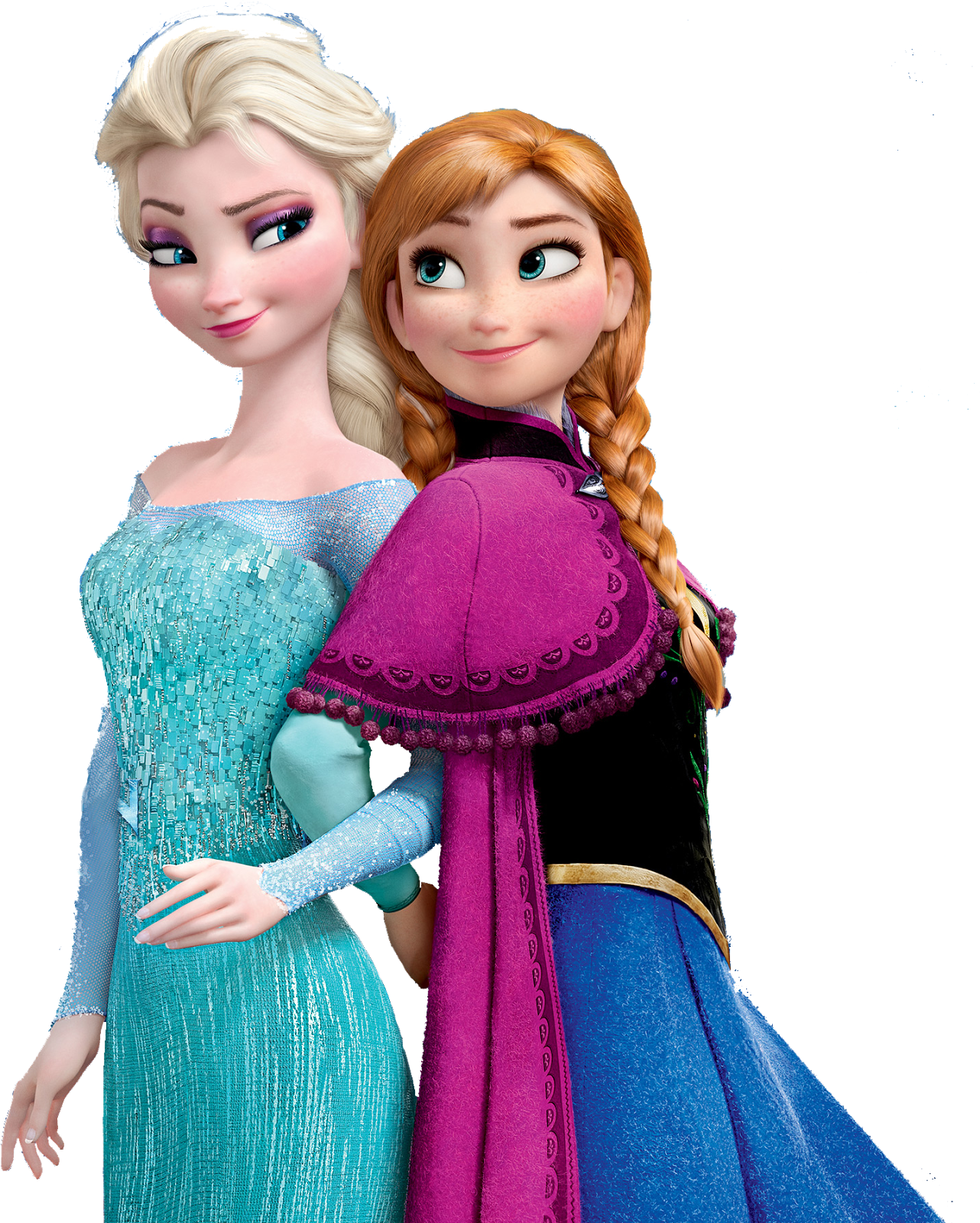 Frozen clipart frozen sisters. Anna and elsa png