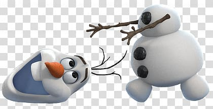Olaf from disney illustration. Frozen clipart head