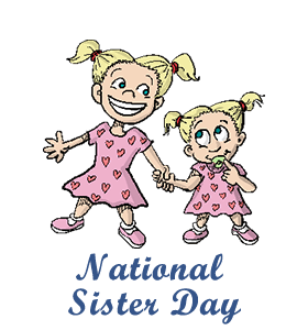 Sister us . Frozen clipart national siblings day