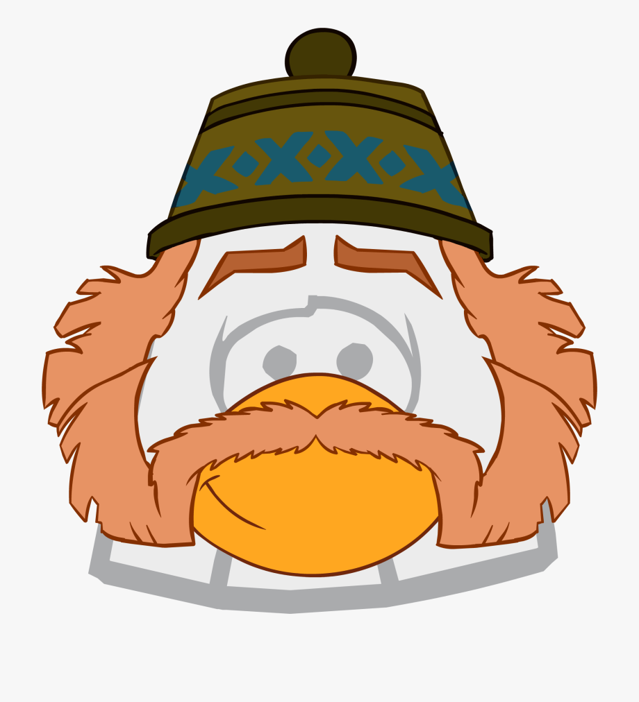 Frozen clipart oaken. Club penguin dog ears
