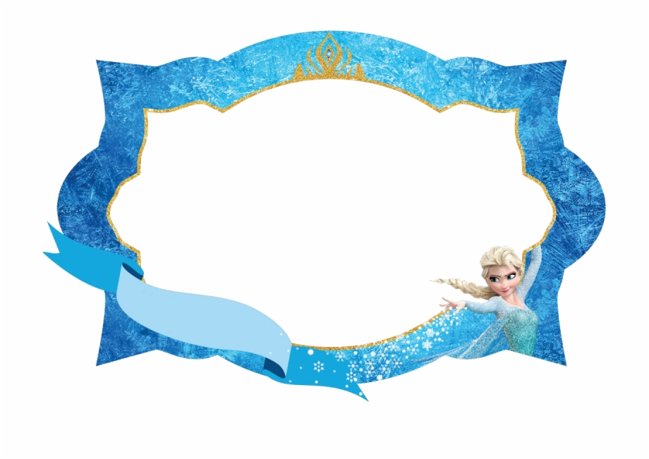 Frames and borders . Frozen clipart picture frame