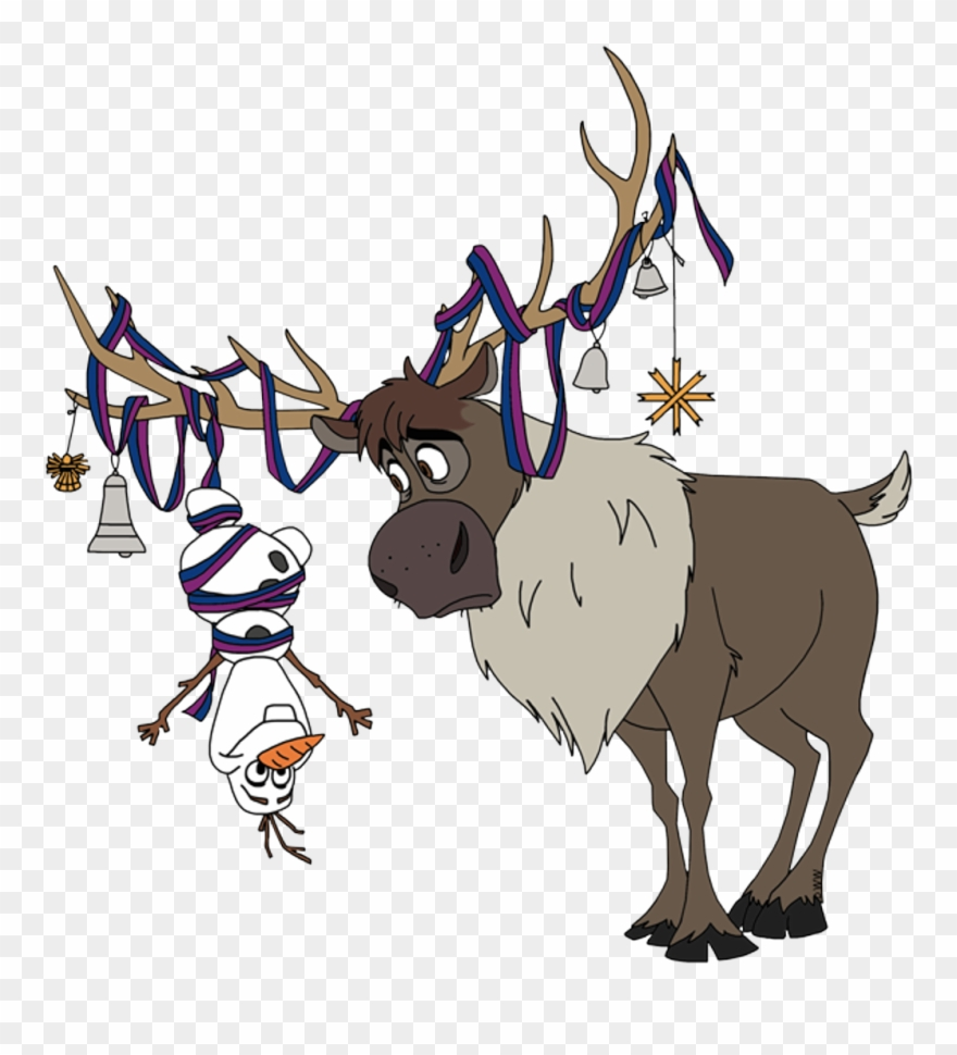 Olaf clipart sven olaf. Frozen happychristmas merrychristmas