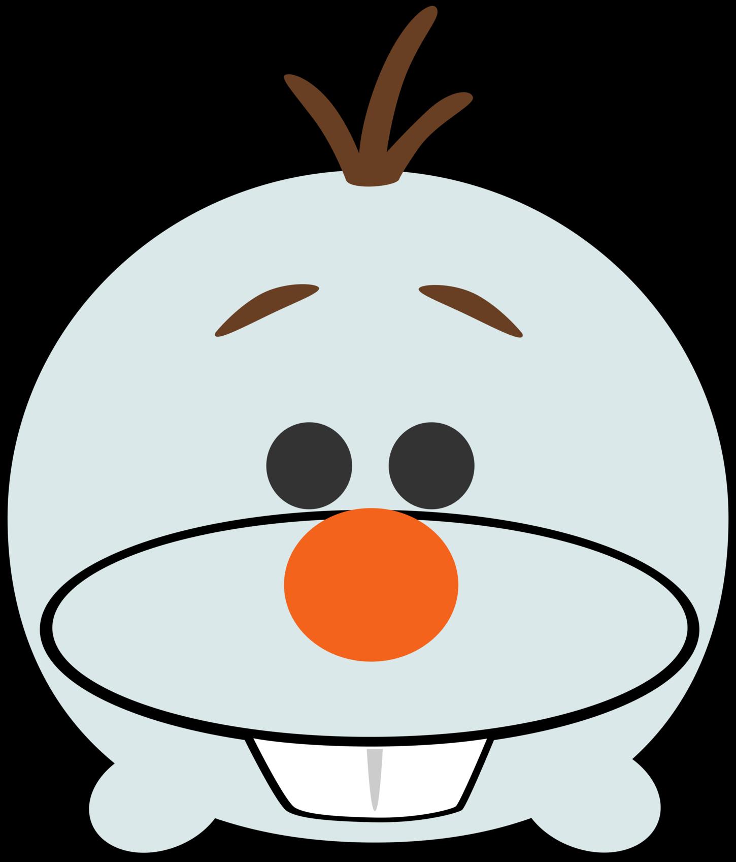 Disney tsum frozen . Olaf clipart face