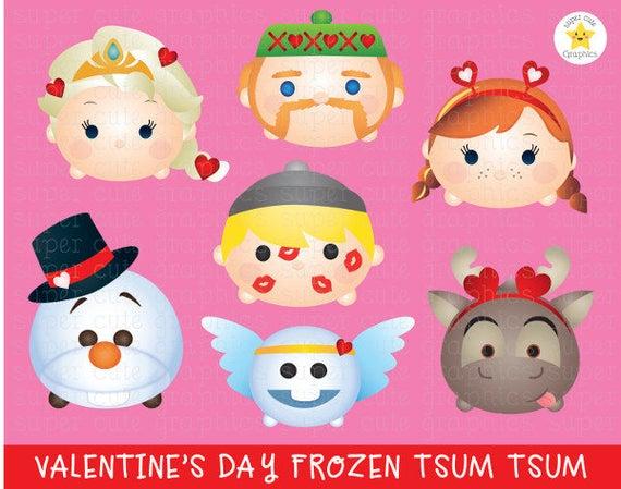Frozen clipart valentine. Tsum valentines s party