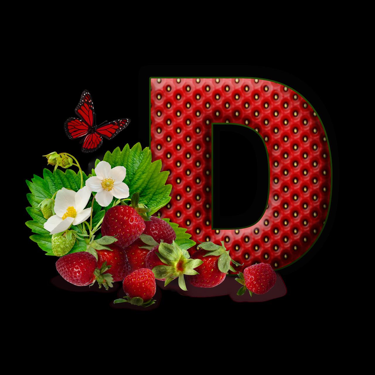 Fruit clipart alphabet. Flores y letras para