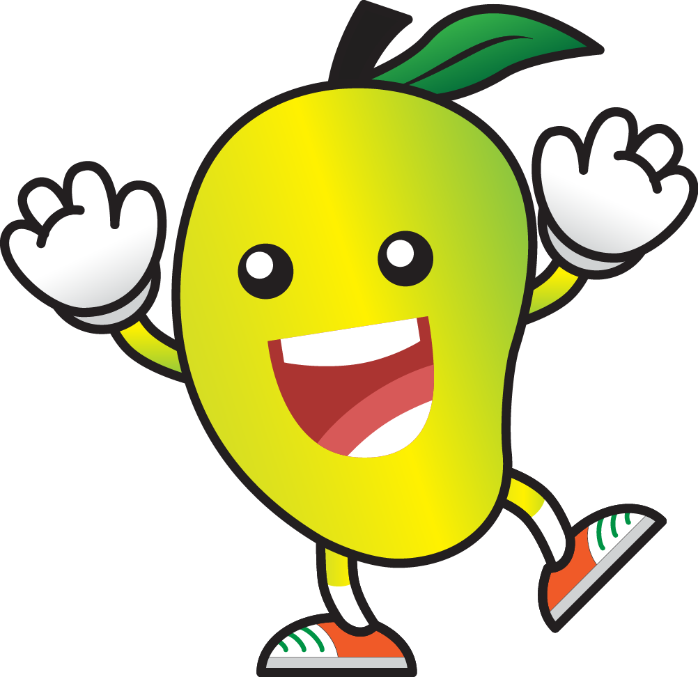 child eating fruits. Worm clipart comic