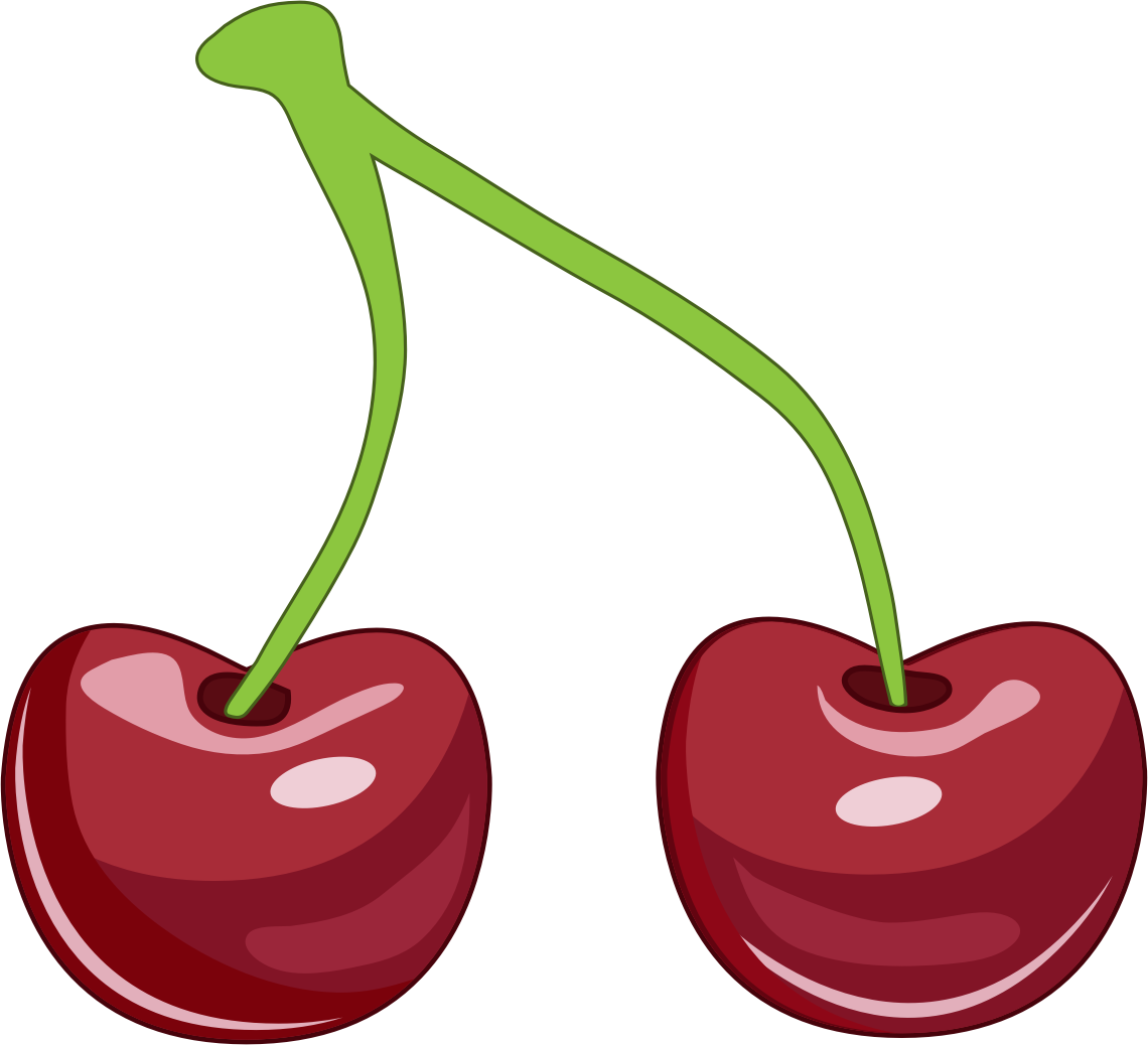 Moving clipart fruit. Cherry