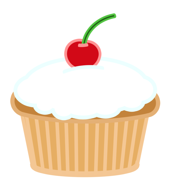 Fruit clipart cupcake. Cherry coloring pages printables