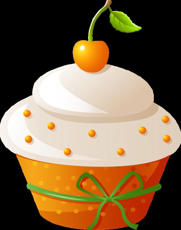 Gateaux tube meyve ve. Fruit clipart cupcake