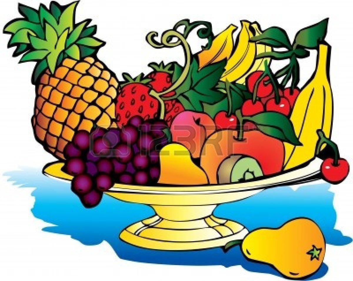 Panda free images . Fruit clipart fruit plate