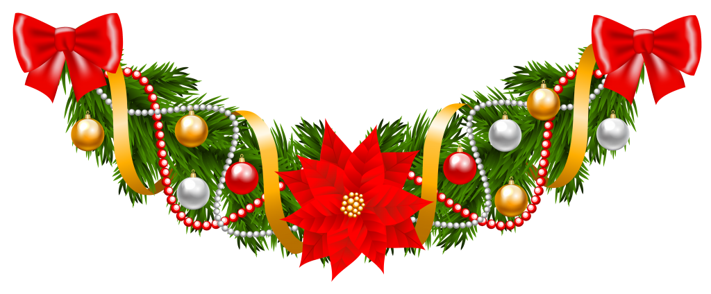 Poinsettias clipart transparent background. Garland images peoplepng com