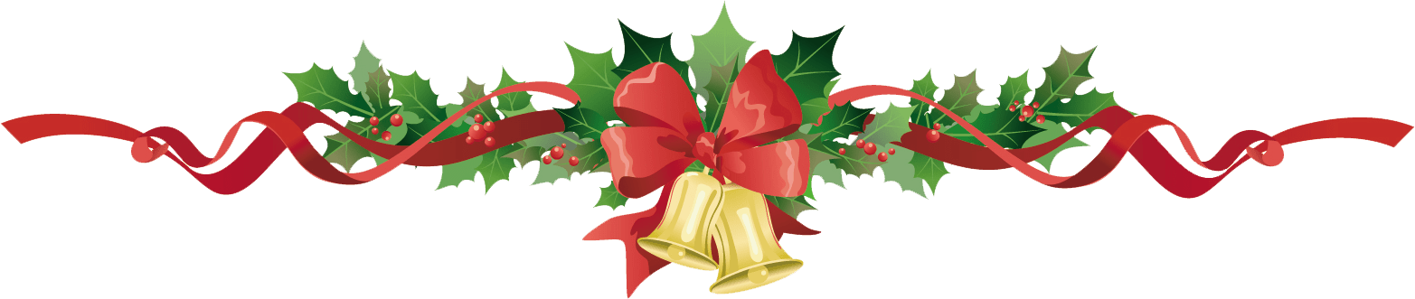 Fruit clipart garland. Poinsettia holiday free collection