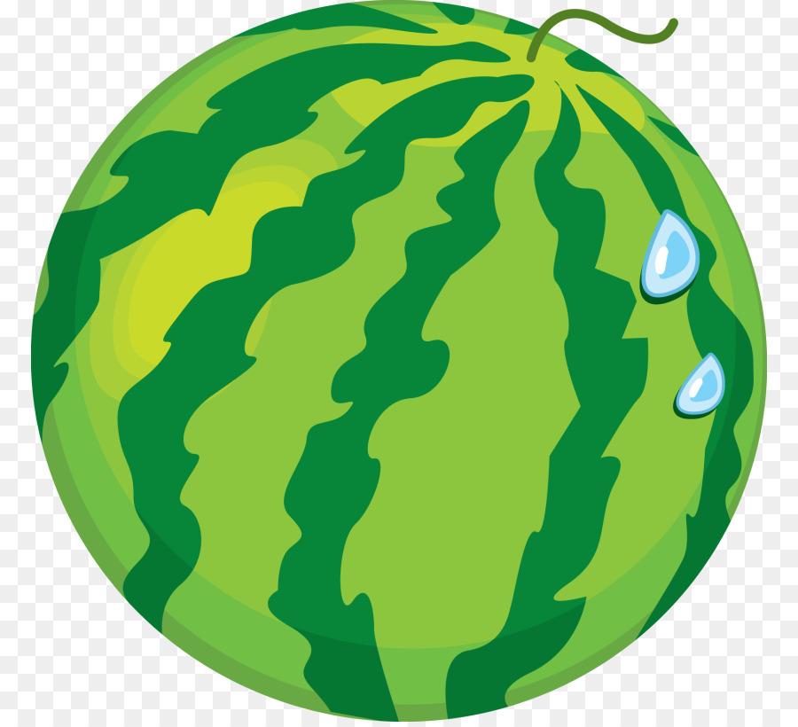 Grass background watermelon . Fruit clipart green fruit