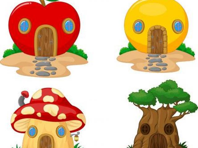 Free jump download clip. Fruit clipart house