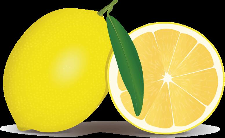 Lemons clipart cartoon. Free lemon clip art